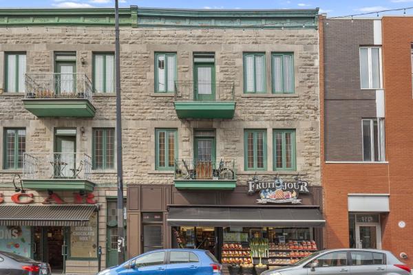 Mercier/Hochelaga-Maisonneuve (Montréal) | En rangée